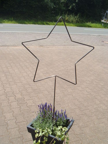 Star metal star for house and garden handwork each star is unique