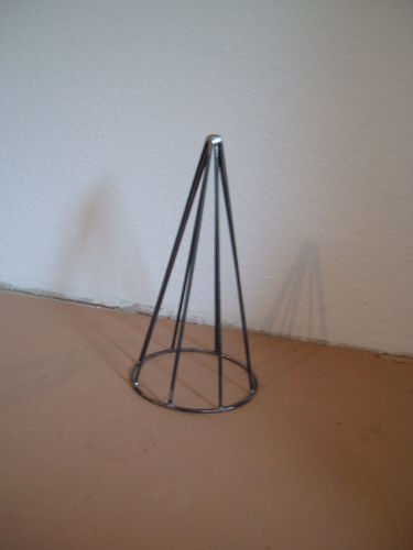 Christmas pyramid Cone pyramid Gr. S Decoration made of metal