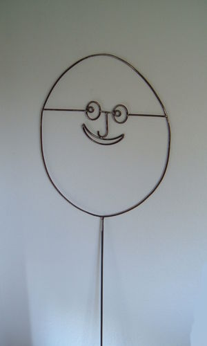 The happy egg - our happiness - a lot of fun & joy with the egg head